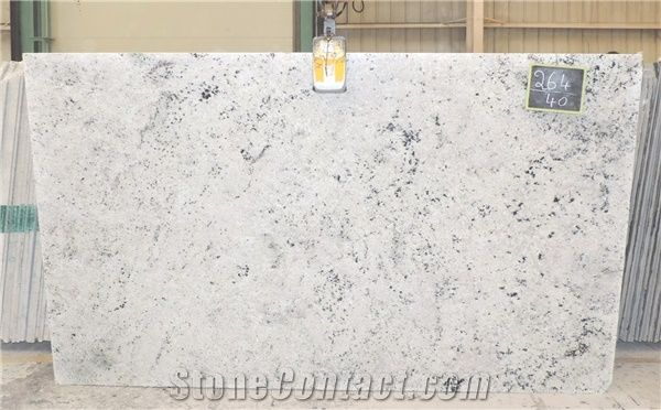 Colonial White Granite Slabs From India 342259