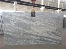 Cotton White Granite Slabs & Tiles, India White Granite