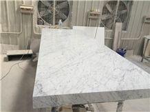 Bianco Carrara C Marble Tabletops Polished/Bianco Marble/Carrara Marble/White Marble/Marble Countertops