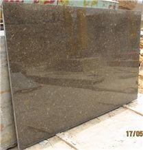 Memon Brown Limestone Slabs Polished Tiles/Memon Marron Coral Stone for Hotel Lobby Flooring