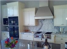 Statuario Venato Marble Kitchen Bench Topa Nd Solid Backsplash