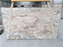 Bordeaux Dream Granite Slabs & Tiles, Beige Polished Granite Floor Tiles, Wall Tiles