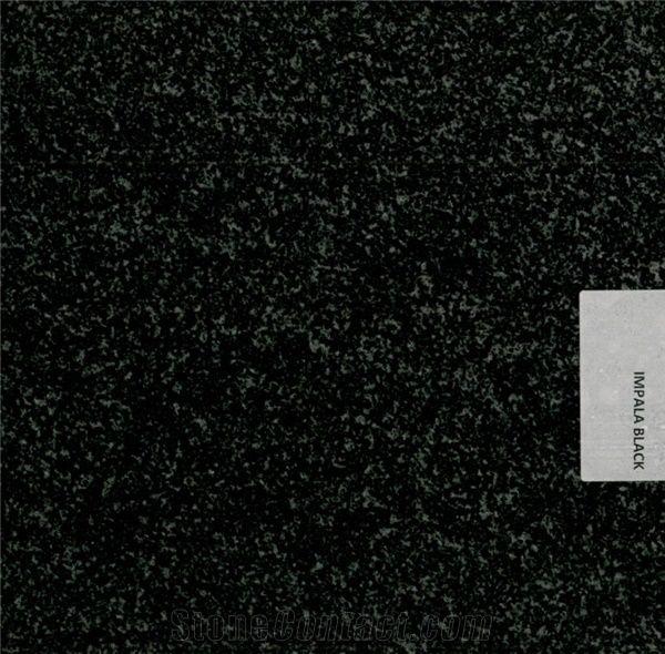 Indian Impala Black Granite
