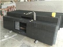 G654 Granite Kitchen Countertops,Black Granite Kitchen Countertops,3cm Countertops