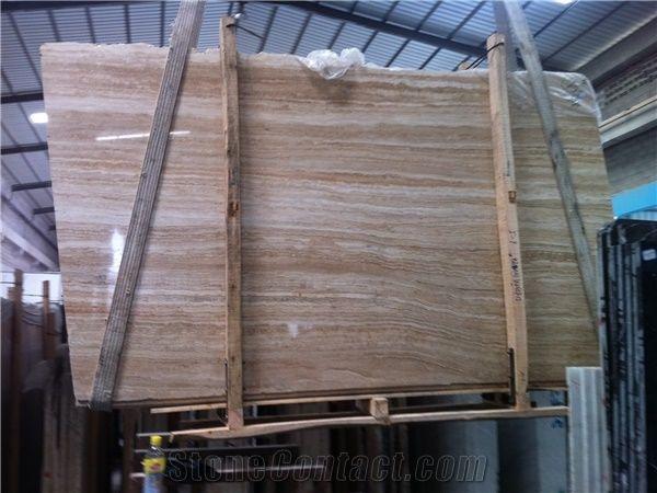 Wooden Travertinebrown Wood Travertine Tiles And Slabstravertine
