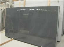 G654 Dark Grey Granite Slab, China Grey Granite