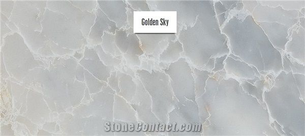 skyros golden sky marble slabs tiles grey marble greece polished