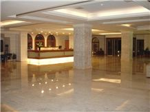Skyros Yellow Whitish Marble Floors and Walls, White Marble Tiles & Slabs Greece