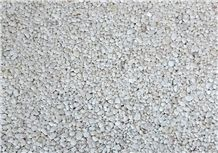 2-4 mm & 4-6 mm White Marble Pebble