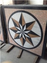 Best Quality Elegant Customize Style Water Ject Medallion Marble Pattern for Floor