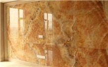 Honey Onyx Background Wall