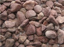 Red Cheap Landscaping Pebble Stone,Cobblestones,River Gravel Stone