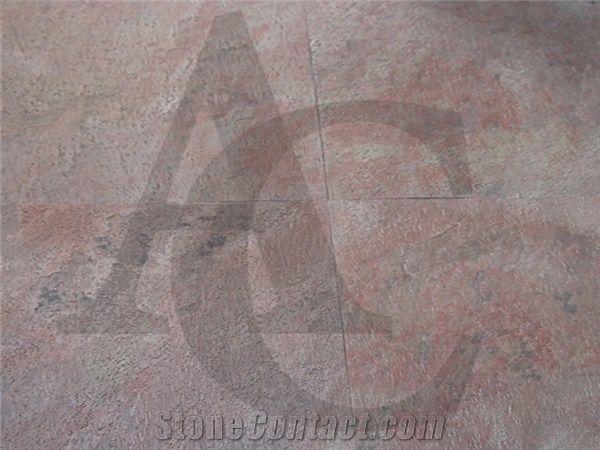 Steel Copper Slate Tiles Slabs Thin Light Weight For Veneer