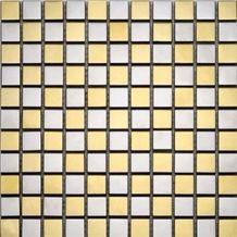 Glass Mixed Metal Mosaic Manufacture China Metal