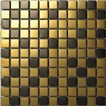 Mosaic, Backsplash Metal Mosaic Tile