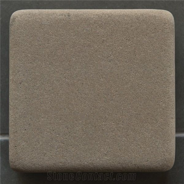 Rocafort Sandstone Tumbled Pavers from Spain