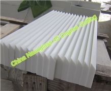 45 Degree Joint Seamless Nanoglass Stone Countertop Skirting