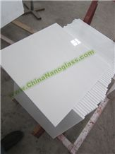 Nano Crystallized White Glass, Shining Glass Stone Nano Crystallized Glass Stone Tiles for Interior Decoration
