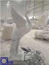 Hand-Carved Stone Birds,G603 Granite Carved Birds,China Grey Granite