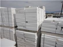 Thassos White Remnants Marble, White Marble Greece Tiles Slabs