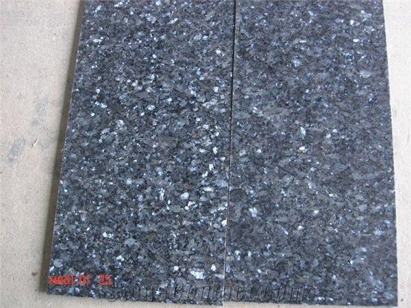 Marina Blue Star Granite Floor Tile, Norway Blue Granite from