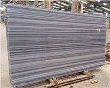 Marmara White Marble Black Strip White Marble Slabs & Tiles, Marmara Equator White Marble Slabs & Tiles