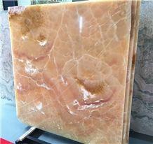 Onice Miele Polished Tiles & Slabs, Turkey Yellow Onyx