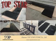 Polished Shanxi Black Granite Bench Tops