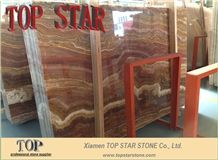 Red Dragon Onyx Jade Stone Slabs & Tiles