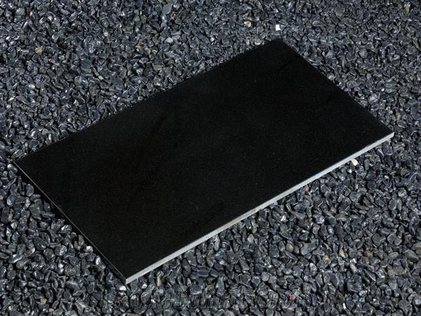 High Polished Nero Supreme Black Shanxi Black Granite