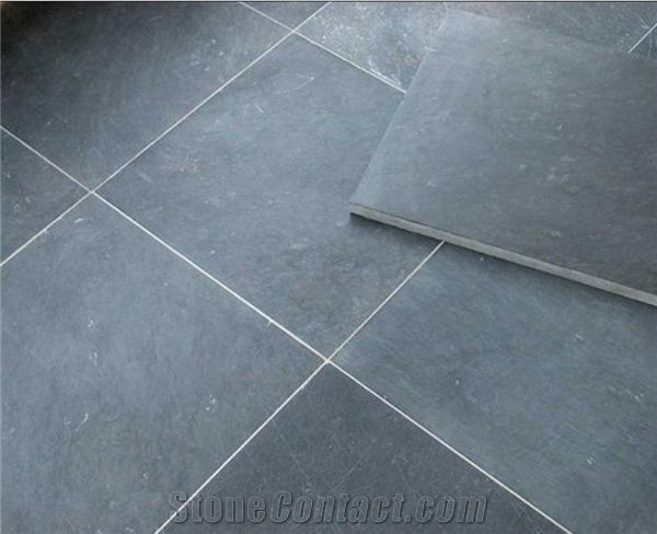 China Blue Limestone Honed Floor Tiles Wall Tiles China