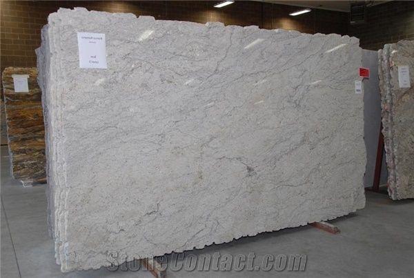 Supply Competitive Price Bianco Romano Granite Slab With