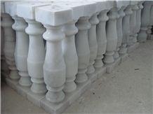 White Marble Balustrade&Railing, White Marble Railings