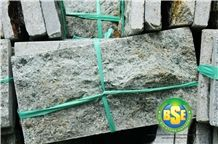 Lisa Green Stone, Sukabumi Green Stone Rough Face Walling Tiles