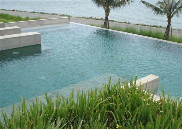 Natural Green Sukabumi Swimming Pool Tiles Stone Bigga Stone Pt Bigga Damai Utama Bali Stone Tiles Supplier Indonesia Natural Stone Exporter
