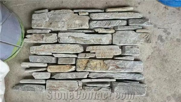 100 Rockface Wall Panel China Multicolor Culture Stone
