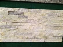 China Factory Directly Wholesale Beautiful Multicolor Slate White/Onyx/Light Green Natural Surface Flooring and Wall Covering 100%Rockface Wall Panel Culture Stone