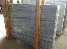 Moire Bai Tianran Marble Tiles & Slabs, China Apollo Marble