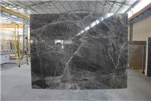Luna Dark Marble Slabs, Black Marble Slabs, Turkey Dark Marble Slabs & Tiles, Flooring Tiles, Walling Tiles