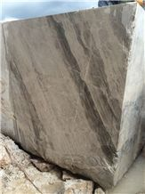 Luna River Marble Blocks, Luna Grey Marble Blocks, Turkey Grey Marble Blocks