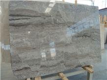 Luna River Slabs, Luna Grey Marble Slabs Turkey, Grey Marble Slabs & Tiles, Floor Tiles, Walling Tiles