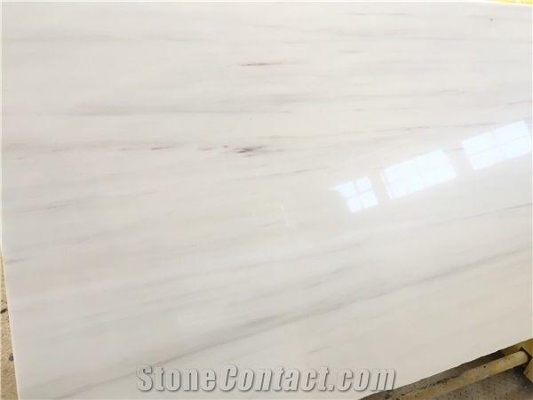 White Dolomite Marble Tiles Slabs