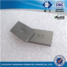 Tungsten Carbide Tips Ss10 for Quarry Marble, Limestone, Tufa Cutting