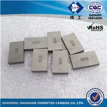 Zzjg Ss10 Carbide Tips for Stone Cutting