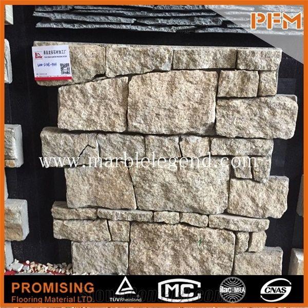 China Beige Slate Cultured Stone - StoneContact com