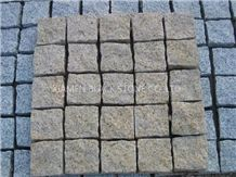 Cobble Stone,Granite Cube Stone,G682 Granite Cobble Stone,China Yellow Granite