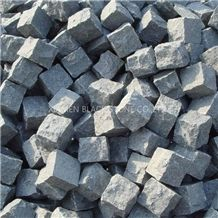 Cube Stoneg654 Granite Cobble Stone,China Grey Granite