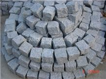 G614 Granite Cobble Stone,Courty Road Pavers,Paving Sets,Floor Covering,Garden Stepping Pavements