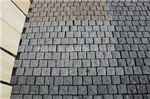 G654 Grey Granite,Paving Cube Stone,For Garden Stepping Pavements,Rainwater Drain,Street Gutter