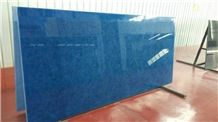China Supply New Tech Blue Jade Glass Crystallized Onyx Stone Tiles & Slabs,New Product,High Quanlity & Reasonable Price